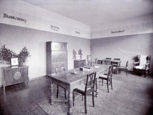 "Inside the ""Froebelhaus"", 1911"