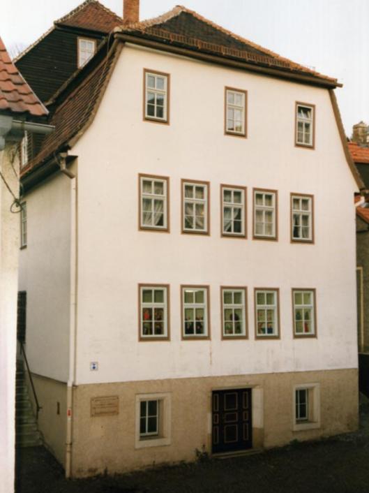 """house above the cellar"" (""Haus über dem Keller""), exterior view, 1982"