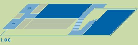 1. Obergeschoss, Ausstellngsbereiche Wirkungsgeschichte und Wohn- und Arbeitszimmer