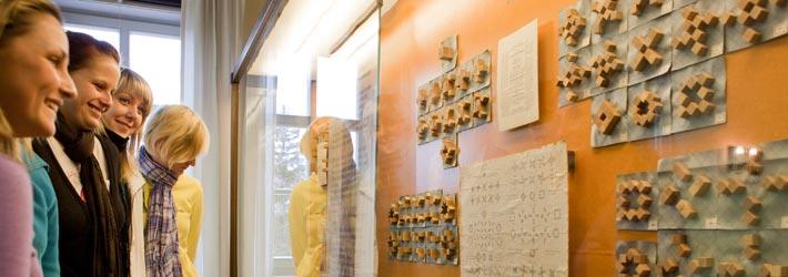 Führung durch die Ausstellungen