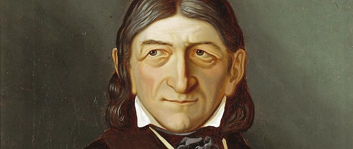 Painting of Friedrich Froebel