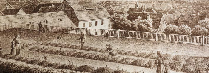 Büste von Friedrich Fröbel